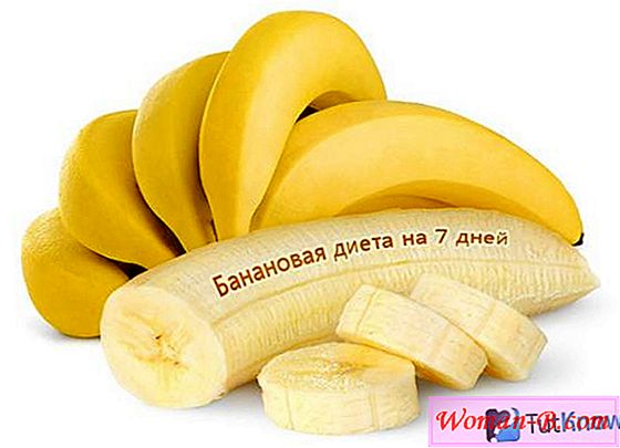 Banana diet 7 dni