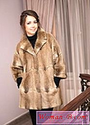 Coat of muskrat | Photo Moda 2017