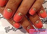 Images: Coral manicure | Mody 2017