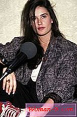 Demi Moore bez make-upu