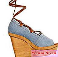 Moda: Denim cipele Wedge
