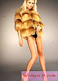 Moda: Fox Fur Coat