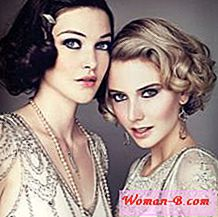 Make-up ve stylu Gatsby