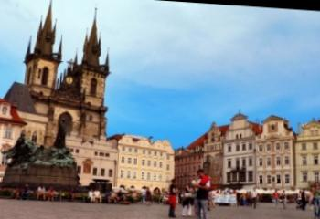 Harta obiectivelor turistice: Golden Prague