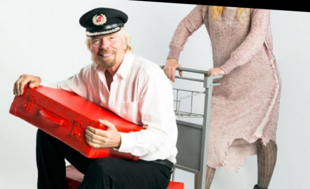 Униформени Virgin Atlantic Airways от Vivienne Westwood