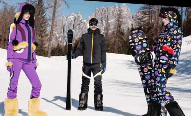 Do naslednje sezone: Zbirka Fendi's cartoon ski