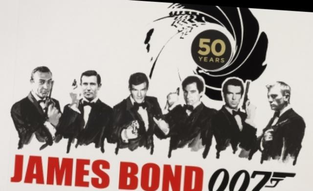 James Bond din Londra: film, poster, canal TV