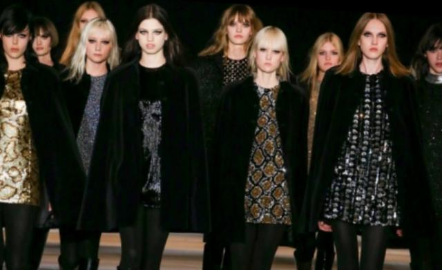 Zdravo, 60-ih godina! Saint Laurent na Fashion Week-u u Parizu