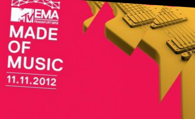 Głośna bitwa: nominowani do MTV Europe Music Awards 2012