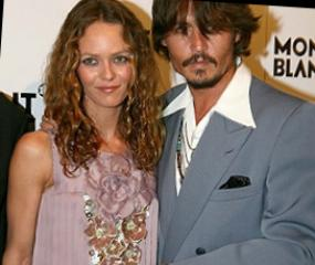 Johnny Depp in Vanessa Parady