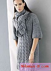 Knit rochie cald