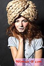 Tricotate hat-turban