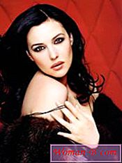 Monica Bellucci - tvarové parametry