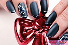 Nail design a New Year 2015