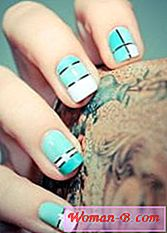 nail design folią