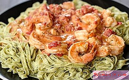 Testenine z Shrimp 4 recept