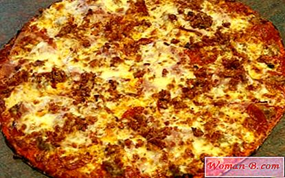 Pizza s mesom recept