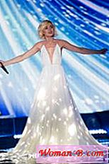 Polina Gagarina - Eurovision 2015 - Dress
