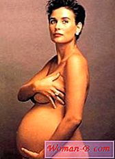 photoshoot Demi Moore insarcinata