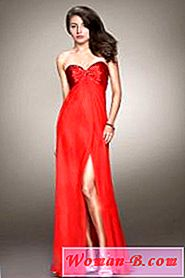 Photo Moda 2017: Red Evening Dress