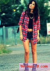 Kobiety Plaid Shirt