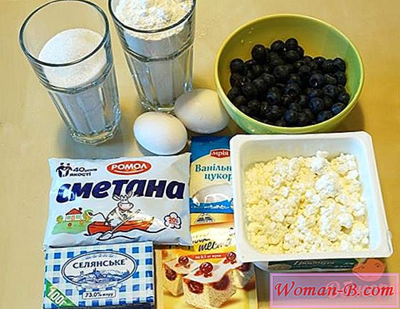 Blueberry pito recept
