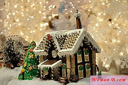 Gingerbread House recept sa fotografijama. Remek od kuhanja do Nove godine | Kuća 2017