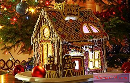 Gingerbread House recept sa fotografijama. Remek od kuhanja do Nove godine