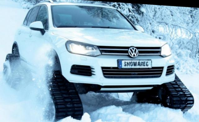 Off-road crawler: Snowreg Volkswagen