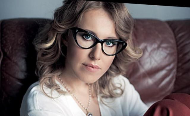 Ksenia Sobchak je vodila revijo Sex and the City