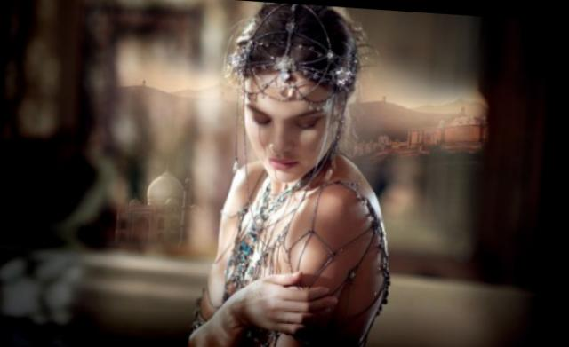 Legends of Shalimar: Natalia Vodianova u filmu Guerlain