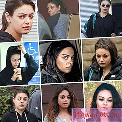 Photo Modă 2017: Mila Kunis fara machiaj - fotografie și modul în care să repete make-up actrita, film