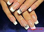 Nail design french 2014