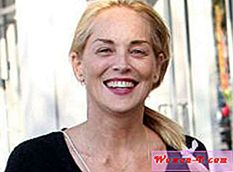 Sharon Stone bez make-upu