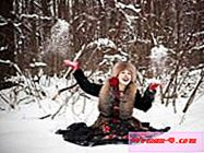Winter photo shoot - ideje za dekleta | Photoshoot 2017