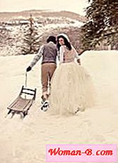 Winter wedding photo shoot - ideje