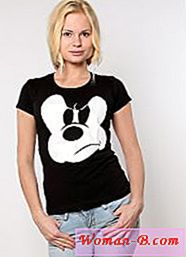 T-shirt, cu Mickey Mouse